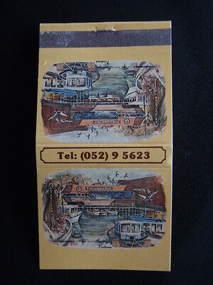 Fisherman's Pier Seafood Restaurant Yarra St Geelong 95623 Matchbook