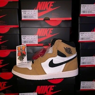 NIKE AIR JORDAN 1 RETRO HIGH OG ROOKIE OF THE YEAR 555088 700 Sz:10-14
