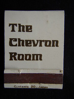 The Chevron Room Hotel 519 St Kilda Rd Melbourne New Luxurious 511281 Matchbook