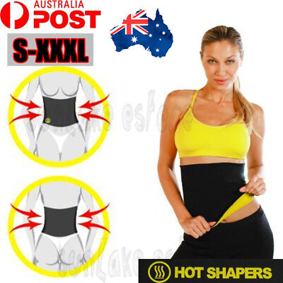 Hot Shapers Belt Neoprene Underbust Slimming Waist Tummy Trimmer Fat Burn Sweat