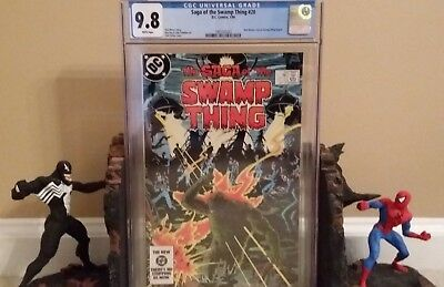 Saga Of The Swamp Thing: #20 Cgc 9.8 Huge Alan Moore 1St Issue; Not Cgc #37