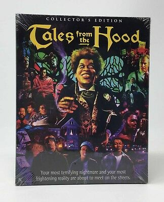 SCREAM FACTORY Tales From the Hood Blu-ray Disc 2017 Collectors Ed NEW Slipcover