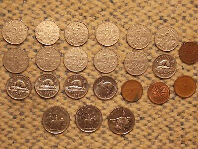 older Canada nickels and more