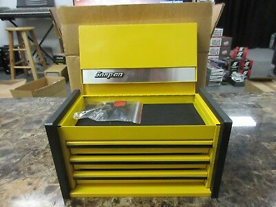 Snap On Yellow Mini Micro Top Chest Tool Box Brand New Rare