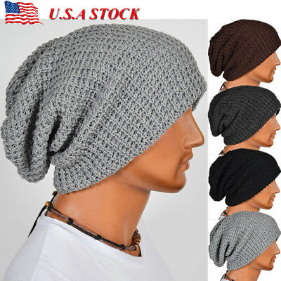037ea91765f8 BEANIE HAT FOR Men and Women Skull Cap Fall Winter Warm Fashion Knit ...