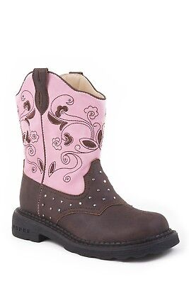 ROPER - Kids - Dazzel Lights - Brown / Pink - 18202022 - NEW