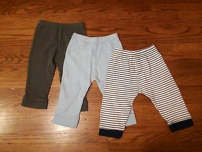 Lovable Friends Baby Boy Blue Gray Pants Size 24 Months