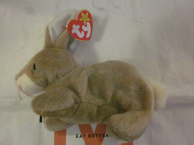Ty Beanie Baby Nibbly The Rabbit 1999