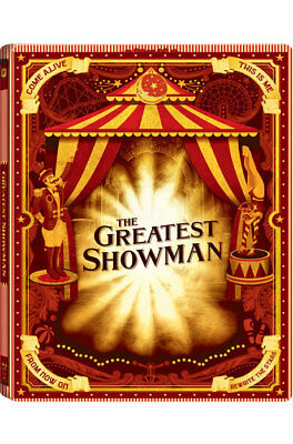 The Greatest Showman (2018) Blu-ray DVD Combo Steelbook Korean Edition