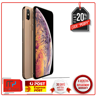 Apple iPhone TENS XS Max - 256 GB - Gold  (Unlocked) A2101 (GSM) AUS Stock