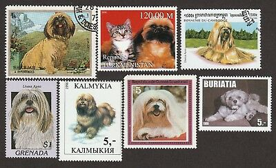 LHASA APSO ** Int'l Dog Postage Stamp Collection ** Great Gift Idea **