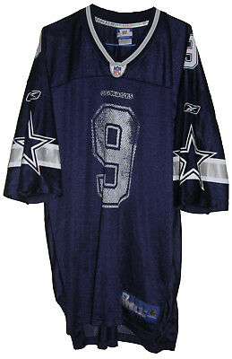 Nfl Dallas Cowboys #9 Tony Romo Reebok Football Jersey Size: X-Large