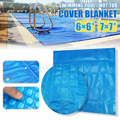 6ft / 7ft Spa Hot Tub Thermal Bubble Solar Blanket Cover Heat Retention Anti-UV