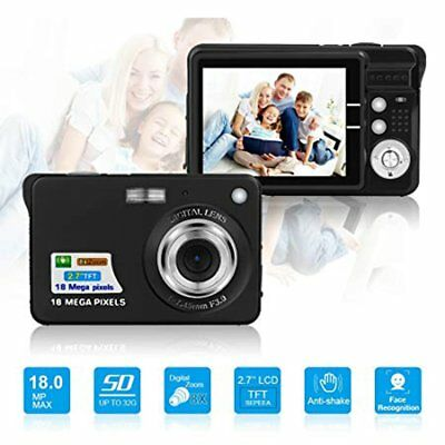 2.7inch Digital Camera Waterproof 18MP 1080P LCD Screen Sports Camcorder QW