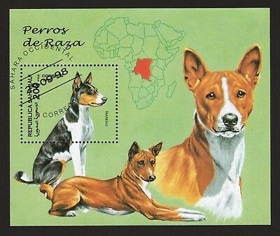 BASENJI ** Int'l Dog Stamp Collection ** Great Gift Idea*