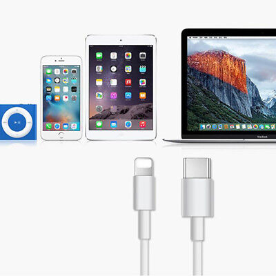Fast Charging Charger Cable USB C 3.1 Type C to Lightning Data Sync Cable iphone