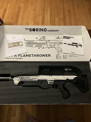 The Boring Company 'Not A Flamethrower' 🔥🔥🔥 Never Used Elon Musk