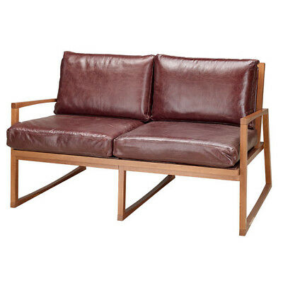 """Varese Two Seat Sofa """"andy Thornton"""" Rrp £1500 Office Clearance"""