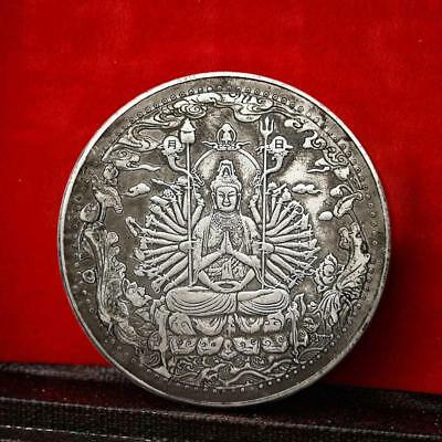 Guanyin Bodhisattva Temple Medal Coin