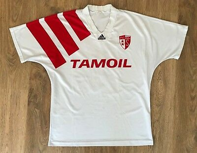 FC Sion Switzerland 1992 - 1994 #10 rare vintage match worn shirt size L