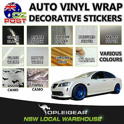 Car Vinyl Wrap Film Self Adhesive Decorative Sticker Air Bubble Release Overlay