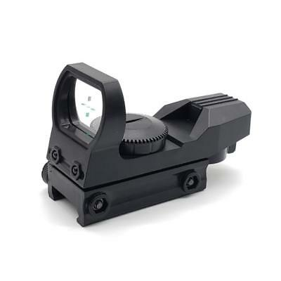 2019 Tactical Holographic Reticle Reflex Red Green Dot Sight Fits 20mm-Rail