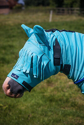 CLEARANCE 75% OFF Snuggy Hoods Horse/Pony Sweet Itch Mask/Fly Mask - XXL £6.99