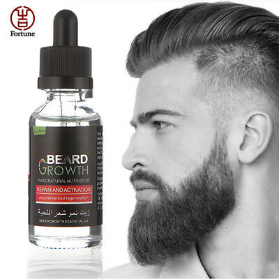 40ml Men Natural Organic Beard Growth Oil Balsam Wax Hair Beard Loss Conditioner