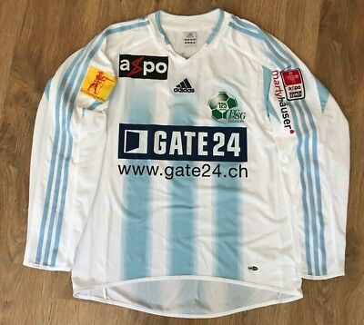 St. Gallen Switzerland  2004 - 2005 #22 Balmer home match worn shirt size L
