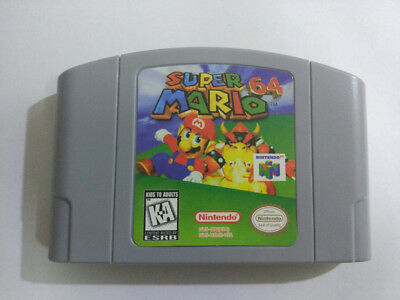 Super Mario Game Card For N64 Nintendo 64 - US Version
