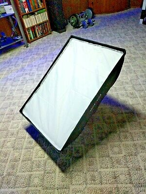 """2x  36"""" x 24"""" Elinchrom Fotodiox softboxes for monolights"""