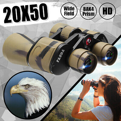 20x50 Day/Night Military Army Zoom Powerful Binoculars Optics Hunting Camping