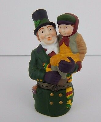 Dept 56 Heritage Village Collection God Bless Us, Every One! Trinket Box #58432