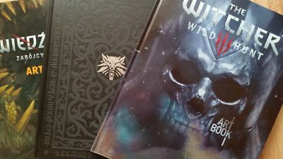THE WITCHER - ARTBOOKS  from Collector's Edition - hardcover (WILD HUNT)