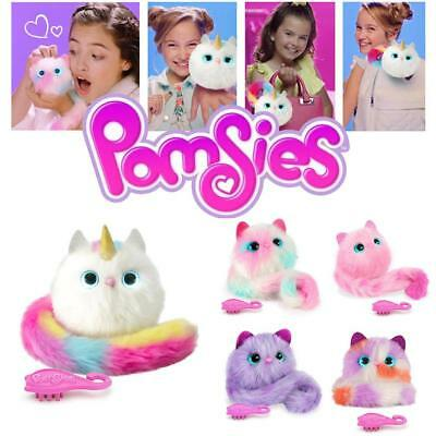 Pomsies Pet Patches Chat - Peluche Chat Licorne Poupée Jouets Avec Son Noël Gift