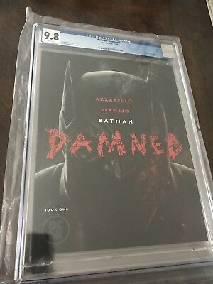 Batman Damned #1 CGC 9.8 1st Print Lee Bermejo Cover A Uncensored In Hand!