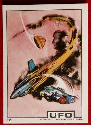 UFO - EJECTOR SEAT IN OPERATION - Monty Gum (1970) - Card #12