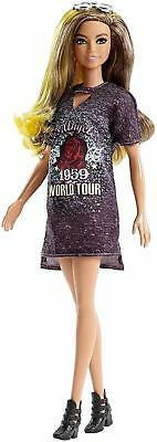 Barbie FJF47 FASHION AND BEAUTY Fashionistas Doll-Ombre Hair, Glitter Boots-Orig