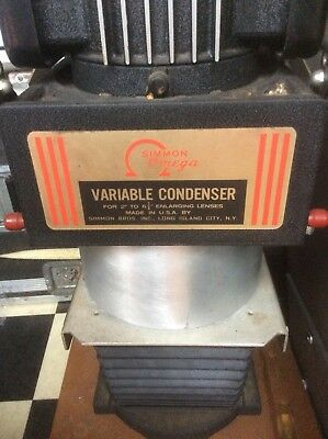 Will Part out Simmon Omega Type D Variable Condenser Enlarger w/3/lenses (3)