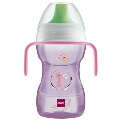 MAM Fun to Drink Cup in pink color