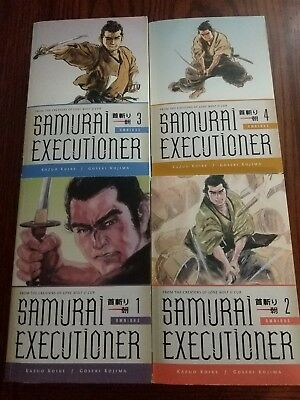 Samurai Executioner Manga Omnibus 1-4 English Good Condition