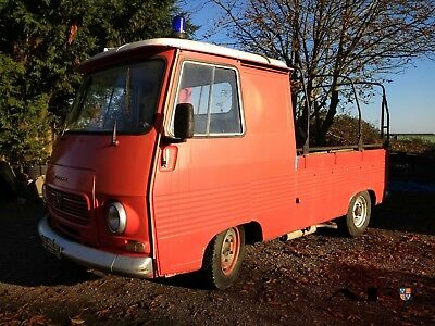 Peugeot J7 1978 1.8 Petrol Pickup Ex EDF, then Fire service catering conversion