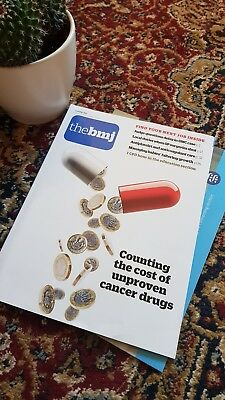 BMJ No 8124 7 October Cancer Drugs Antiplatelet Anticoagulant