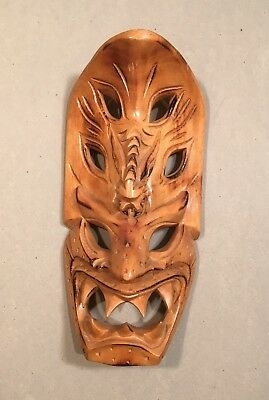 Tribal Wooden Hand Carved Mask