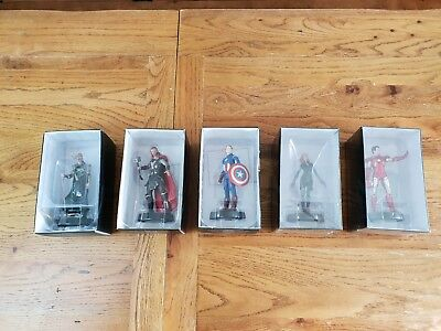 Marvel Movies Figurine Collection set of 5