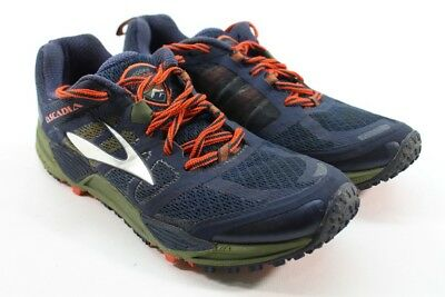 90587d0161131 BROOKS CASCADIA 11 Men s Moss Green Blue Running Shoes UK 7.5  EU 42  1275  - EUR 33