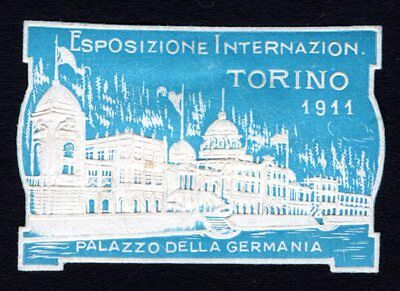 Italy 1911 Cinderella Exposition Poster stamp MH lot2