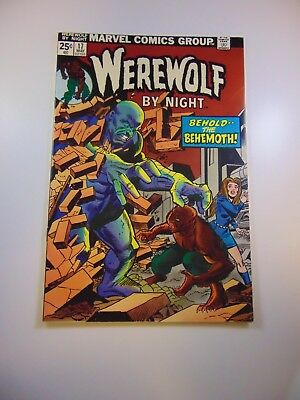 Werewolf By Night #17 VF- condition MVS intact Huge auction going on now!