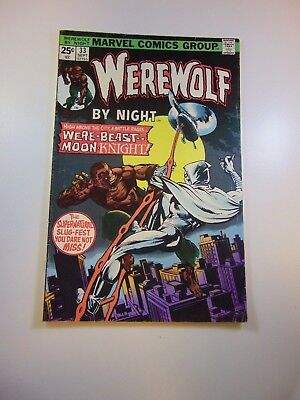 Werewolf by Night #33 2nd appearance of Moon Knight VG condition
