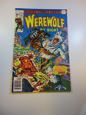 Werewolf by Night #43 VF- condition Huge auction going on now!